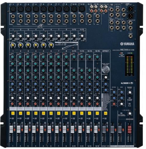 Yamaha MG166CX USB Analogue Multi-Purpose Mixer