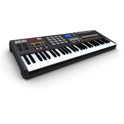 akai mpk61 midi controller with mpc pads. Black Bedroom Furniture Sets. Home Design Ideas