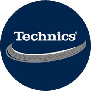 Technics Deck Platter Slipmats