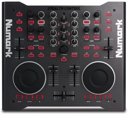 Numark Stealth Control Computer DJ Mixer with Software