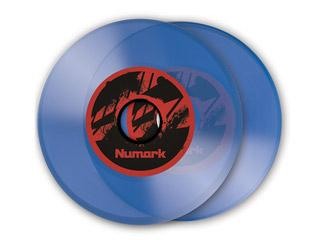 Numark 7 Inch Vinyl For NS7 (pair) - Blue