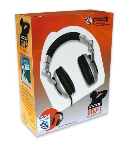 PCDJ UDJ 1 USB Headphones