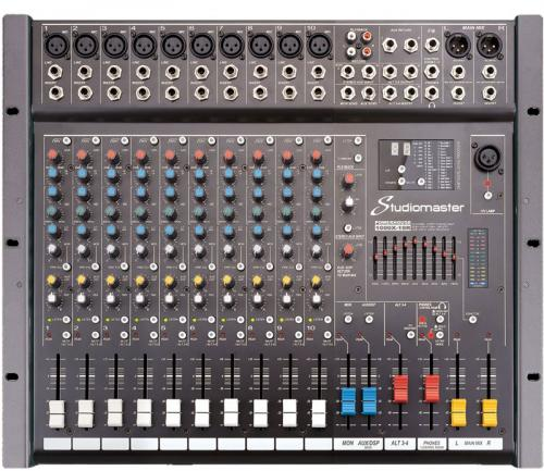 Studiomaster Powerhouse PH1000X-10R 1000W Active Mixer