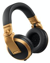 Pioneer HDJ-X5BT-N Bluetooth Headphones (Gold)