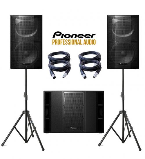Pioneer XPRS XPRS215 & XPRS12 Power Pack