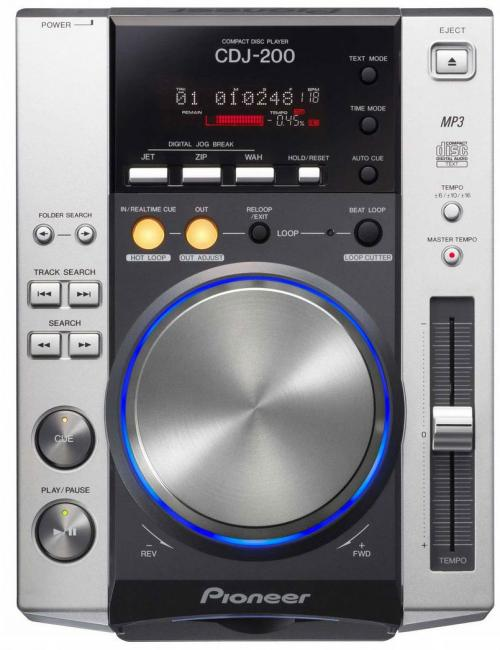 Pioneer CDJ200 MP3 CD Player