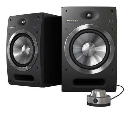 Pioneer S-DJ08 Active Reference Speakers