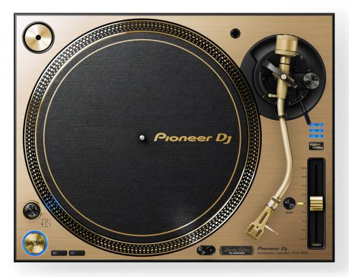 Pioneer PLX-1000 Gold Limited Edition