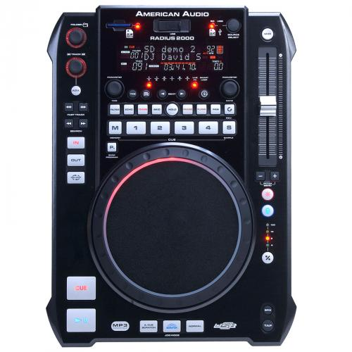 American DJ Radius 2000 MP3/USB Media Player