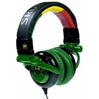 GI Headphones - Rasta - Free Bottle Opener