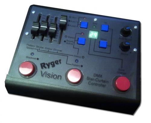 Ryger Vision LED Curtain DMX Controller