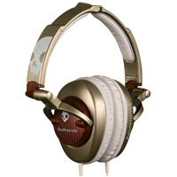 Skullcandy Skullcrushers Gold and Red