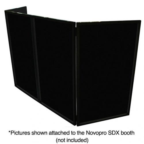 Novopro Scrim black 700mm x 1200mm