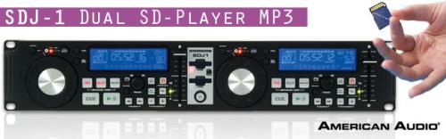 American Audio SDJ1 Dual SD Player