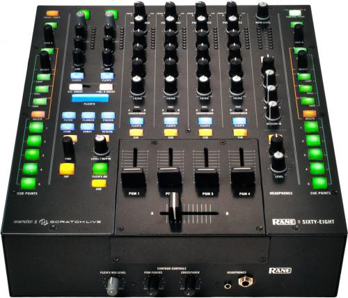 Rane SIXTY-EIGHT Dual Serato Scratch Live DJ Mixer