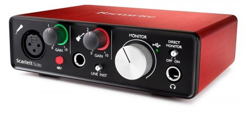 Focusrite Scarlett Solo 2nd Generation Audio Interface
