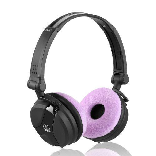 Ear Pad Set for Sennheiser HD25 Headphones - Teddy Purple
