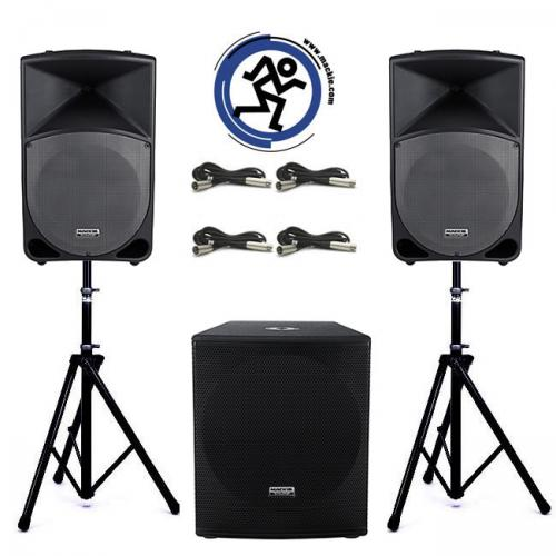 Mackie Thump Pack # 1 - 2800W Active Sound System