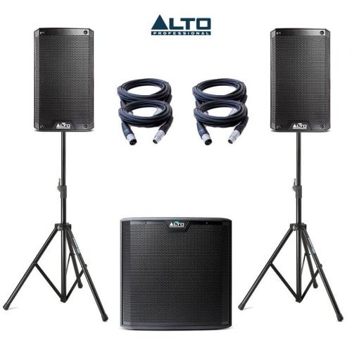 Alto Truesonic TS208A & TS212S Power Pack 1 - 3450W Active Sound System
