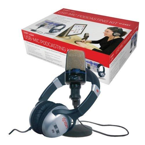 Ion U Cast USB Microphone Podcast Kit (Box)
