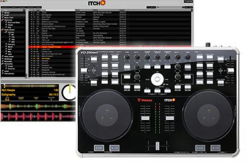 Vestax VCi300Mk2 DJ Midi Controller with Serato Itch Software