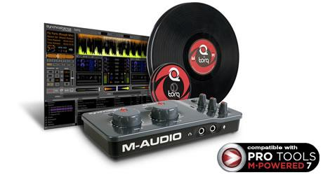 M-Audio Torq Conectiv DJ Performance/Production System with Control Vinyl and CD