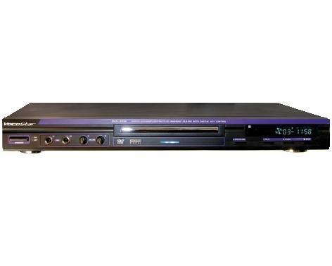 VocoPro DVG-399K Karaoke DVD Player