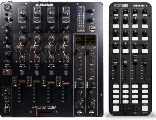 Allen & Heath Xone DB2 Mixer & Xone K2 Bundle Saver