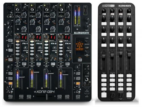 Allen & Heath Xone DB4 Mixer & Xone K2 Bundle Saver