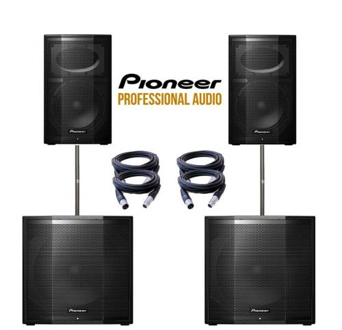 Pioneer XPRS Dual XPRS115 & XPRS10 Power Pack