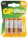GP Ultra Alkaline Battery AA (Pack of 4)