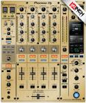 Pioneer DJM-900NXS2 Skinz - Gold Brushed