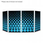 Equinox DJ Screen Circle Design Lycra (4 Pack)