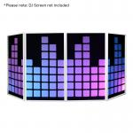 Equinox DJ Screen Equaliser Design Lycra (4 Pack)