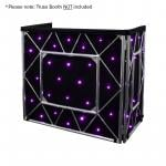 Equinox Truss Booth Quad LED Starcloth System