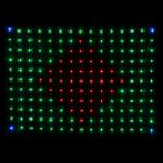 LEDJ Tri LED DJ Skirt Matrix Cloth Alt1