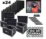 American DJ AV6 24 Panel Video Wall System