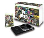 DJ Hero - DJ Turntable & Game Xbox 360