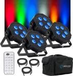 ADJ Mega Hex Par LED Uplighter Package 1