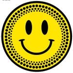 DMC Smiley Platter Slipmats