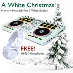 Numark Mixtrack Pro 2 White with FREE HP550 White Headphones
