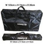 Novopro SDX V2 foldable DJ booth with lighting rig, podiums & bags