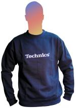 Technics Navy Sweatshirt
