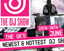 The DJ Show poromotion banner