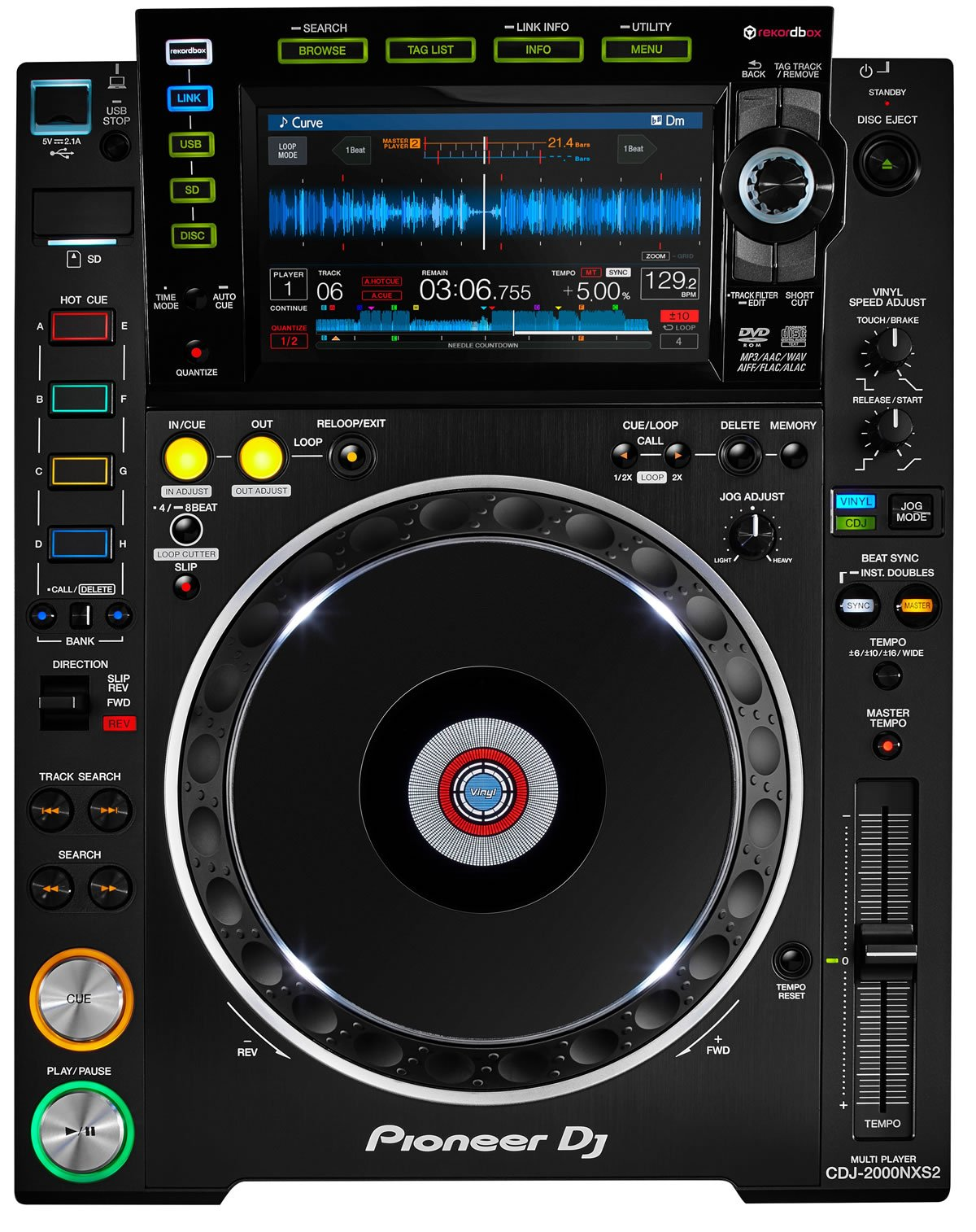 pioneer cdj 2000nxs2 rekordbox pro multiplayer. Black Bedroom Furniture Sets. Home Design Ideas