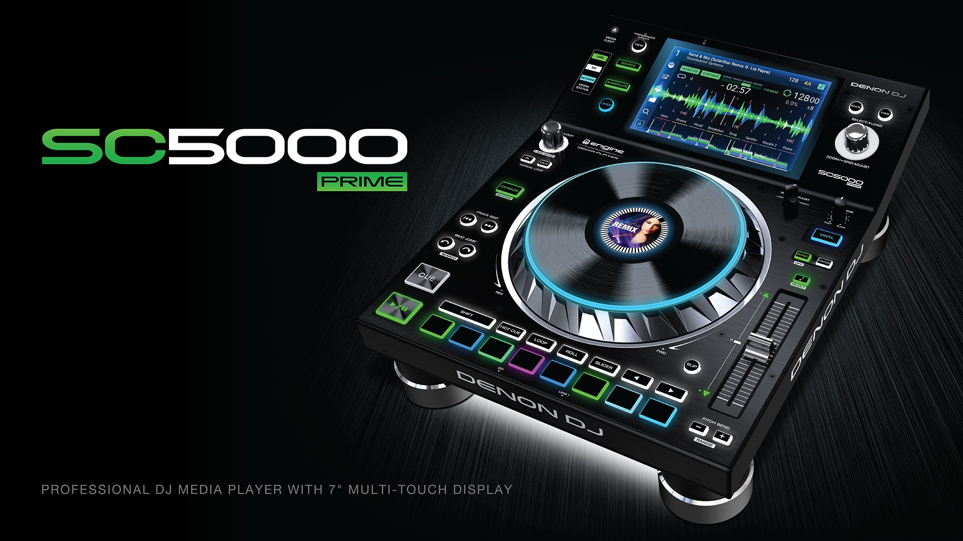 First Look At The Denon Dj Sc5000 Prime Media Player
