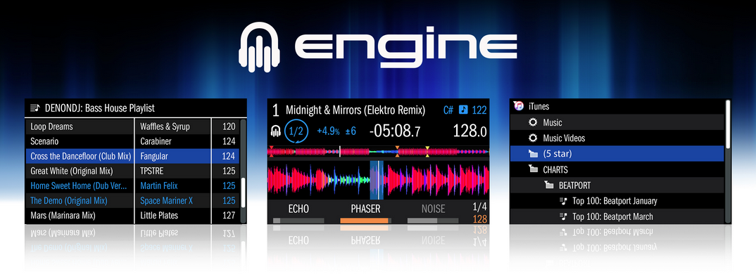 Denon MCX8000 Engine Software