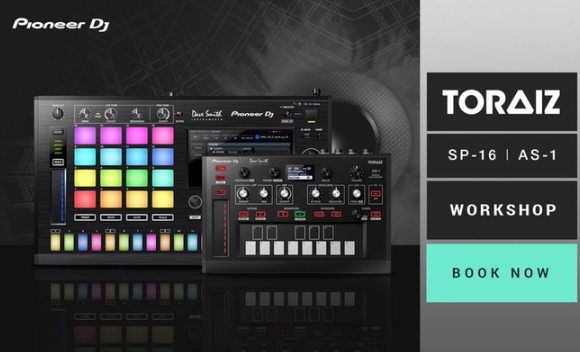 Pioneer DJ presents the TORAIZ AS-1 & SP-16 @ DJkit Newbury