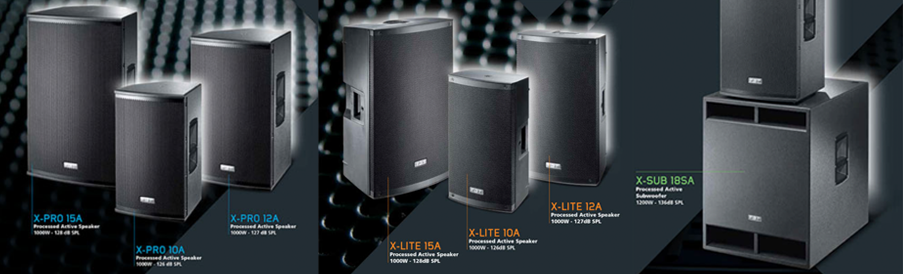FBT X-Series Speakers
