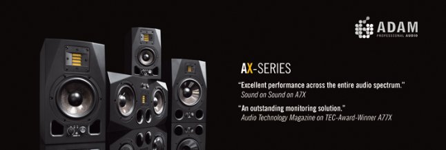 Adam Audio Professional Studio Monitors